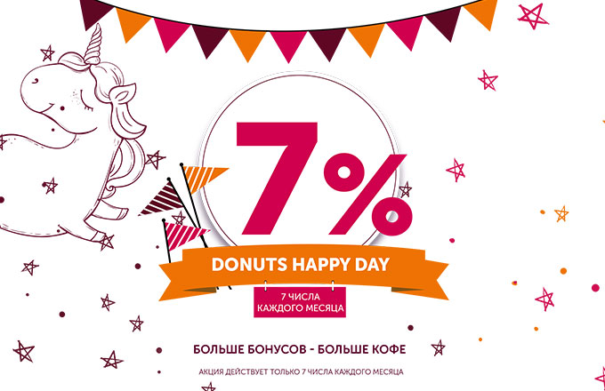 Donuts happy day